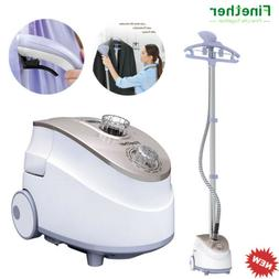 1350W Stand Garment Clothes Fabric Steamer Iron Steam Wrinkl