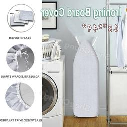 """49""""x18"""" Ironing Board Cover &Pad 3-Layer Silicone Coated"""