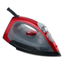 Brentwood  MPI-59R  Non-Stick  Steam  Iron,  Red
