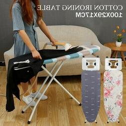 Adjustable Height Ironing Board Table Stand Portable Folding
