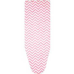 Boao 150 x 50 cm Cotton Ironing Board Cover with 2 mm Foam,