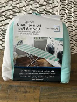 Mainstays Deluxe Ironing Board Cover & Pad Fits Board Tops 1