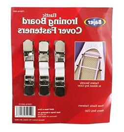 BAJER Elastic Ironing Board Fasteners - 3-Piece Set