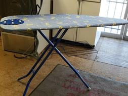 Euro Pro 51 Adjustable Ironing Board with Cover Storage Tray