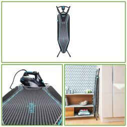 Free Standing Collapsible Ironing Board Heat Reflective Dots