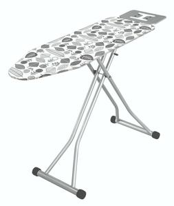 47 Inches  Large  Steel Ironing Board With Iron Rest Made In