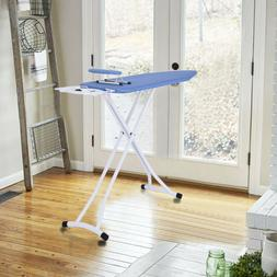 High Quality Ironing Board With Iron Rest,Large 48 Inch Fold