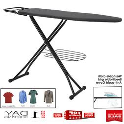 "High Quality Steel Ironing Board With Iron Rest,Large 48"" In"