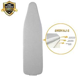 Silicone Coated Ironing Board Cover and Pad Premium Scorch a