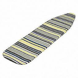 """HONEY-CAN-DO Ironing Board Cover,Basic Stripes,54"""" L, IBC-08"""