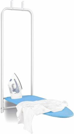 Honey Can Do Over The Door Rust-Resistant Ironing Board, Blu