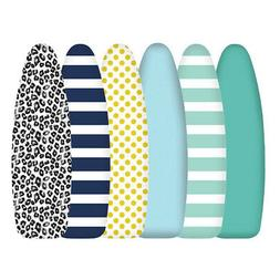 Fresh Designs Cotton Printed Ironing Board Cover Thick Padde
