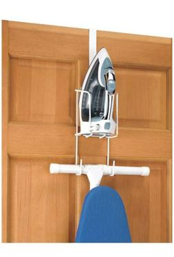 Iron Holder Hanging Wire Caddy Hook Over The Door Wall Ironi