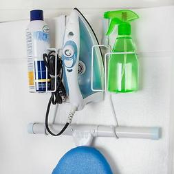 iron ironing board holder hanger