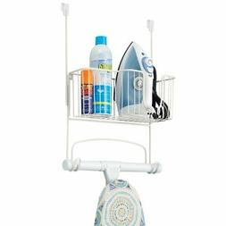 Iron and Ironing Board Holder Hanger Over the Door Stand Sto