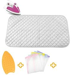 Ironing Blanket Ironing Mat,Upgraded Thick Portable Travel I