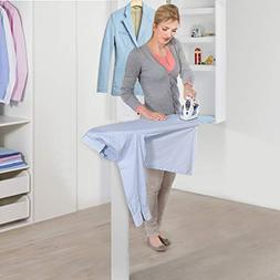 UStyle Ironing Board Cabinet with Dressing Mirror and Storag