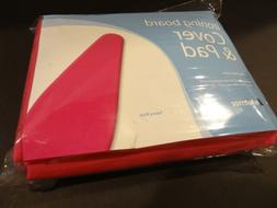 New Whitmor Ironing Board Cover and Pad in Savvy Pink