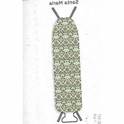 "Waverly Ironing Board Cover Santa Maria 54"" X 15"" Home Kitch"