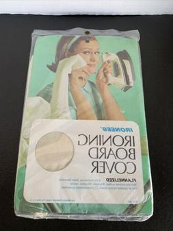 Ironing Board Cover Set NOS Vintage New Sealed 100% Flanneli