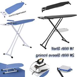 Ironing Board Household Extra Wide Top Iron Stand Foldable A
