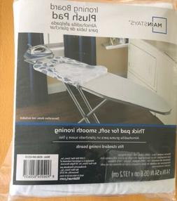 Ironing Board Plush Pad 14inx54 in / 35.6cm x 137.2cm / Fits