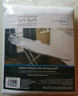 Mainstays Ironing Board Plush Pad - Fits Standard Ironing Bo