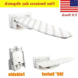Ironing Board Wall Mount, Easy installation,Swivel&Foldable,