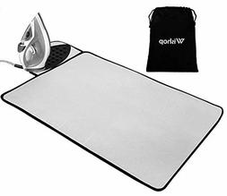 Ironing Mat Silicone Pad Heat Resistant Blanket Thick Portab