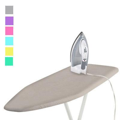 1 Deluxe Ironing Board Cover Pad Scorch Heat Resistant Coate