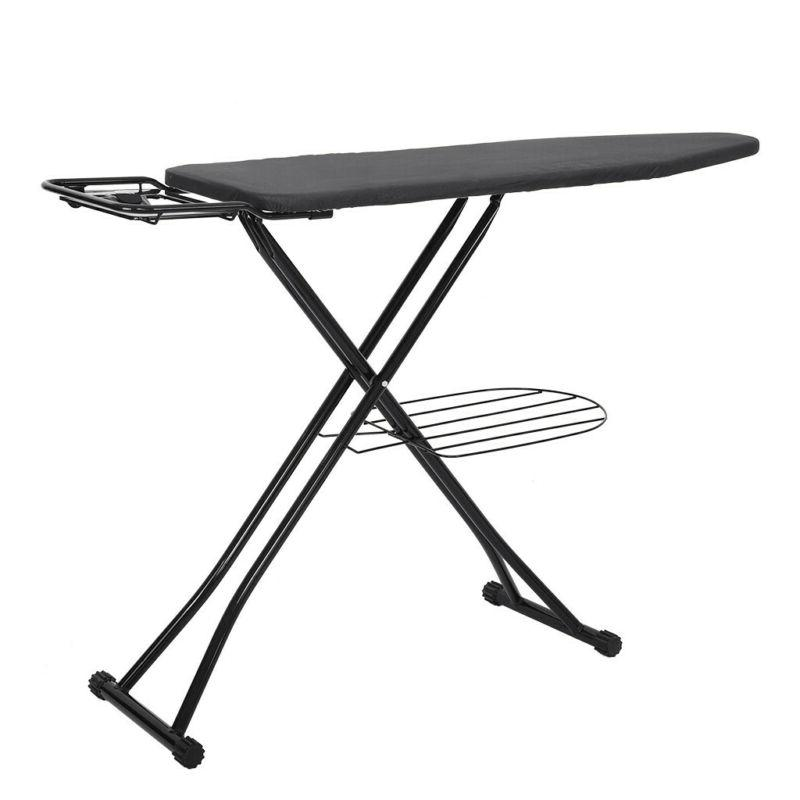 4 leg ironing board retractable iron rest