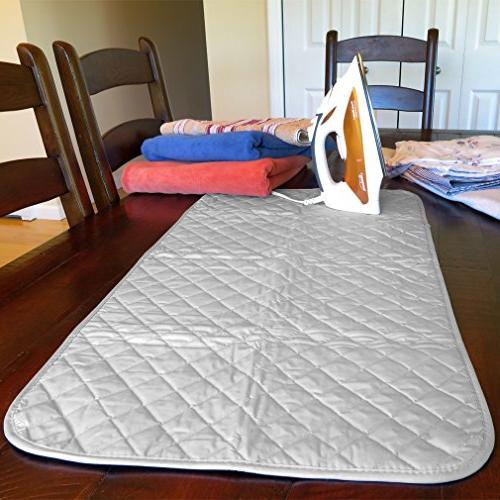 "Evelots Magnetic Ironing Heat Resistant 18"" Mat"