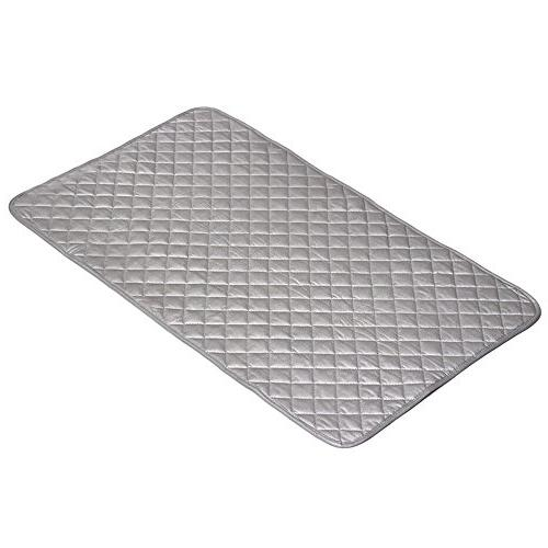 Houseables Ironing Blanket, Mat Laundry Gray, Heat Resistant Pad, Iron Board Alternative Cover