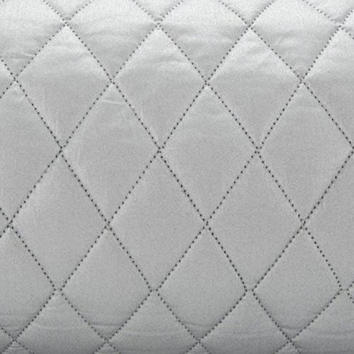 Houseables Ironing Magnetic Mat Pad, 48x85cm, Gray, Quilted, Dryer Heat Board