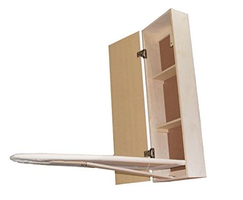 USAFlagCases Board Cabinet Wood, Storage, Hide Away, Stow, Fold Away