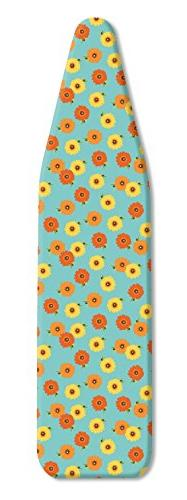 Whitmor Ironing Board Cover and Pad-Kathy Davis Zinnia