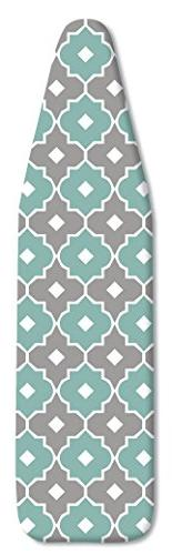 Whitmor Supreme Ironing Board Cover and Pad, Paragon Taupe/G