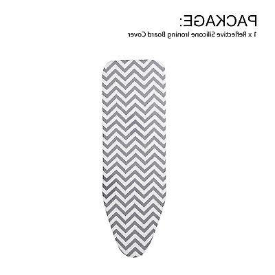 """Ironing Board Cover Thick Padding Heat And Pad 15"""" x"""