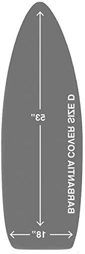 TIVIT Cover Made for Brabantia Size D Ironing Board Cover &