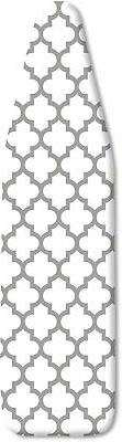 Whitmor Deluxe Ironing Board Cover And Pad Medallion Gray He