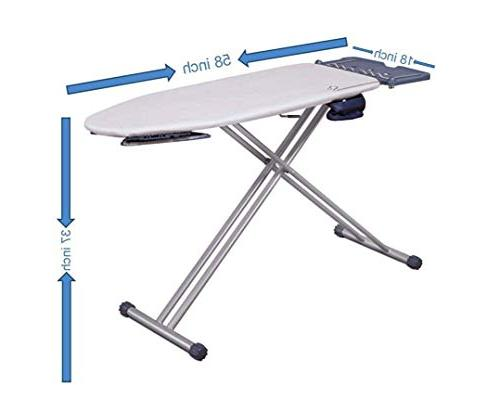 Mabel Home ironing Pro with Shoulder Wing Feature, with Extra