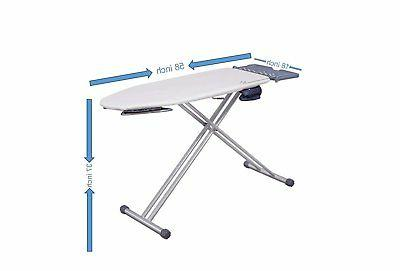 Mabel Extra-Wide ironing Pro with Wing Folding, Feature,