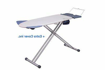 extra wide ironing pro board with shoulder