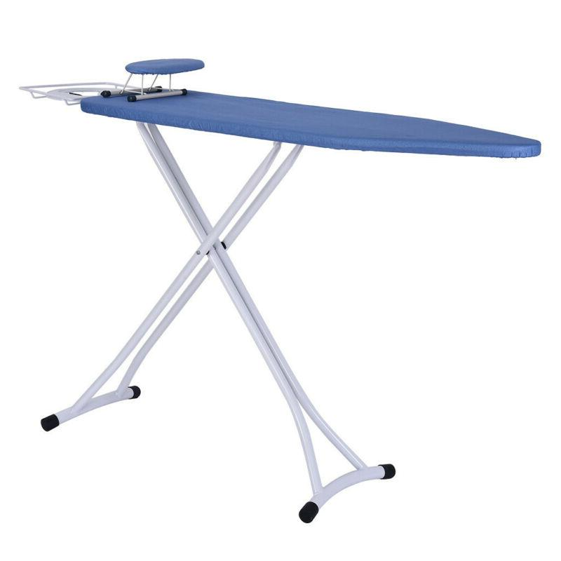 Adjustable Height Ironing Board Table Stand Home Portable Fo
