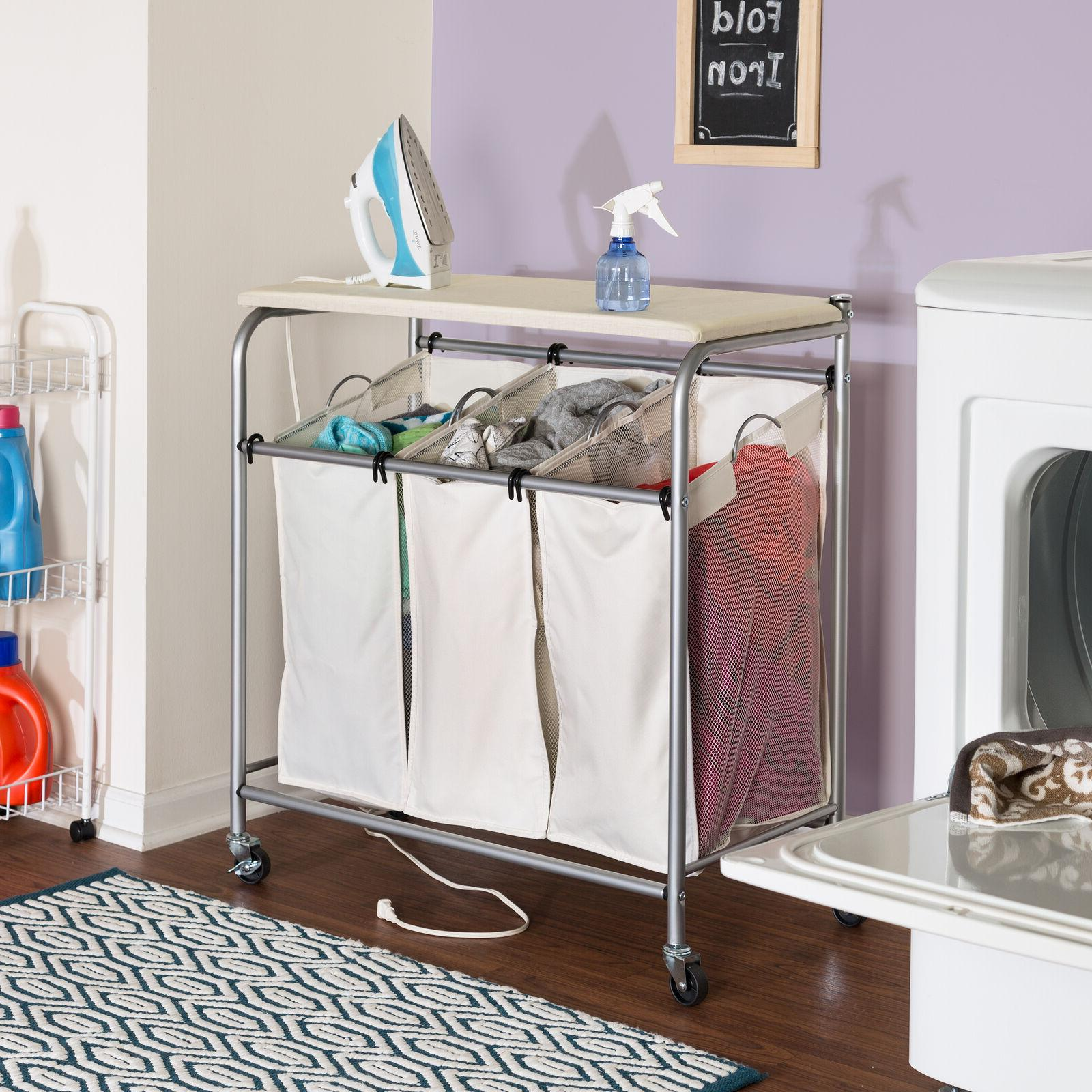 Home Ironing Board Bin Removable Bag