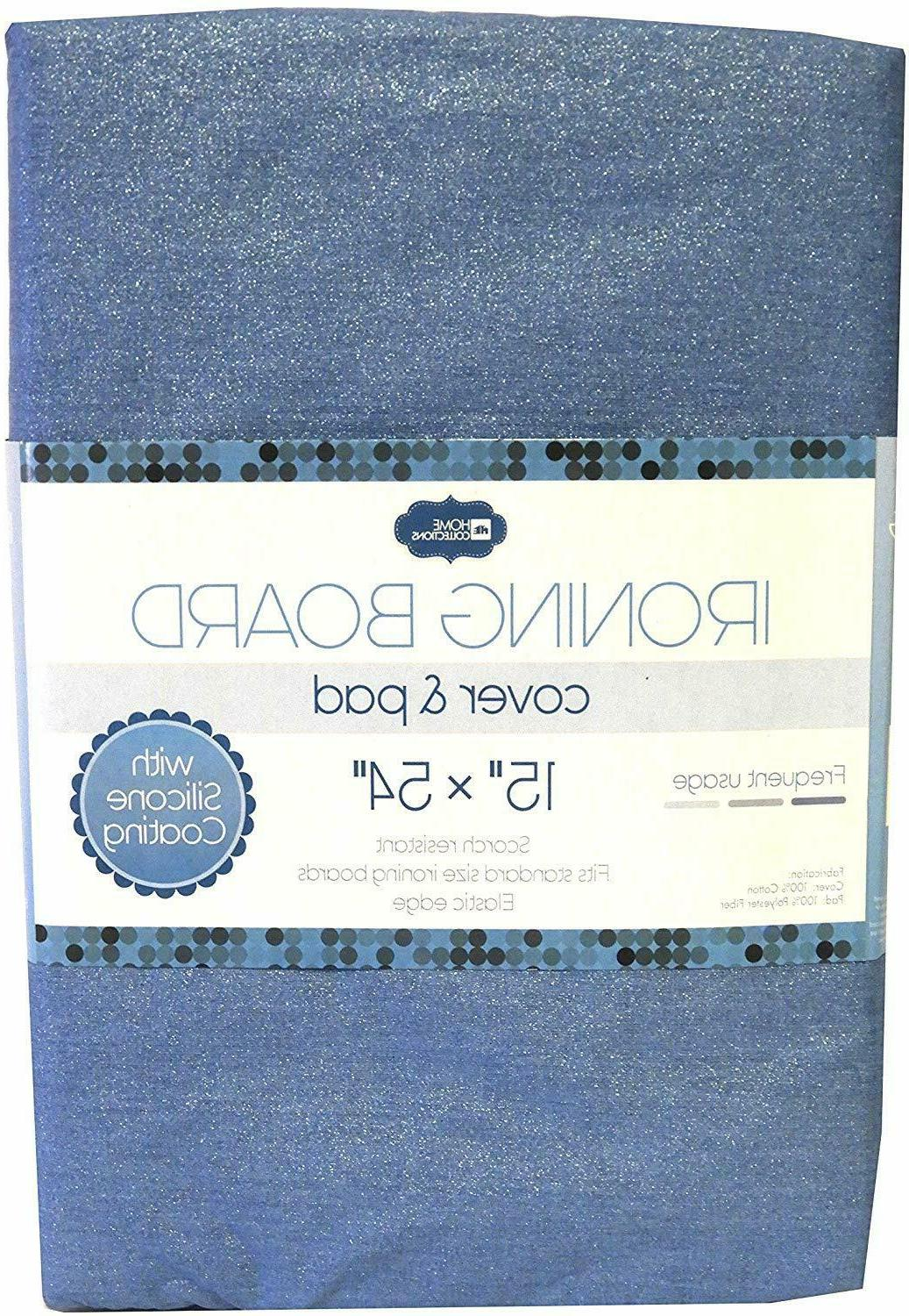 ironing board cover and pad blue