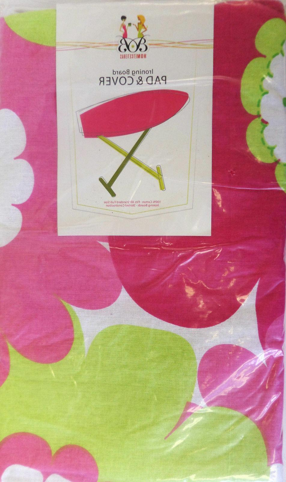 Ironing & Pad Floral, Scroll,