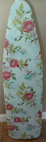 ironing board cover, handmade, quilted fabric, reversible,fl