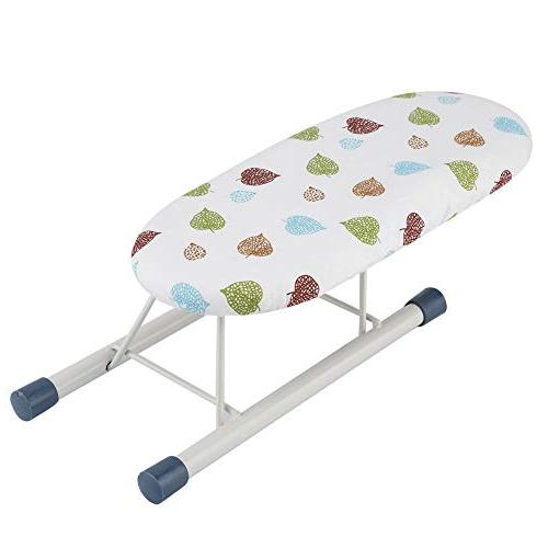 Foldable Portable Compact Table Top for Home Travel Sleeve Cuffs Collars Handling Mini Ironing Board #1