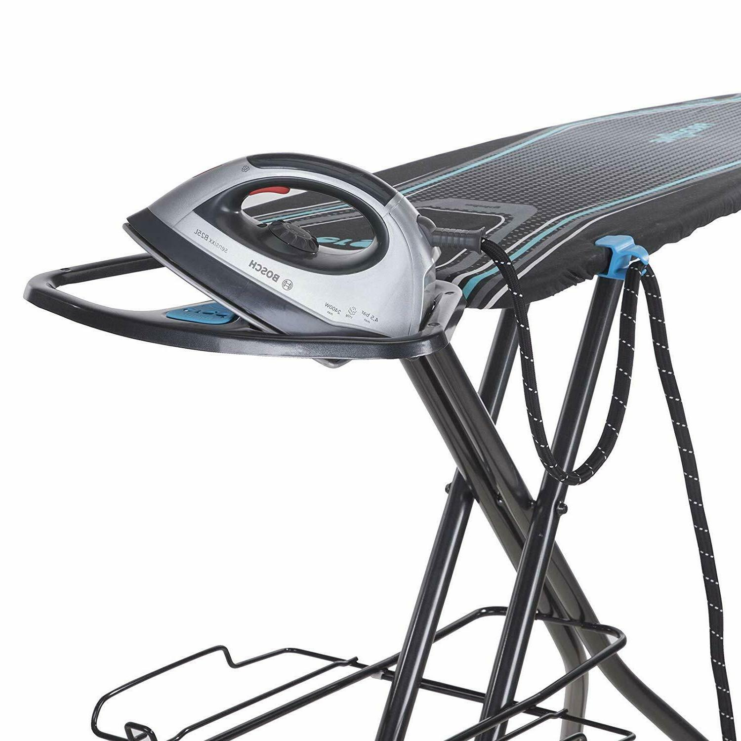 "Minky Ergo Ironing Board, 48"" Blue Multi"